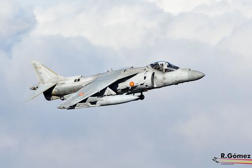 Harrier 9ª  Escuadrilla de la ARMADA   by aviojet