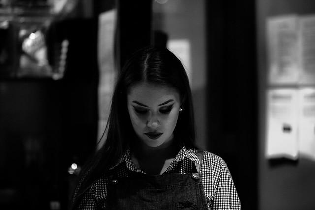 My waitress