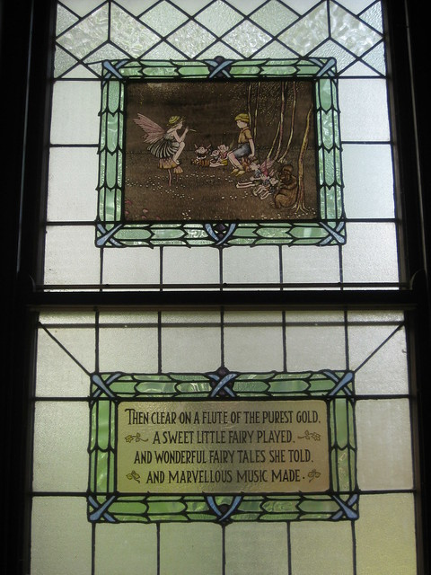 The Fourth Ida Rentoul Outhwaite Stained Glass Children's Library Window - George Street, Fitzroy