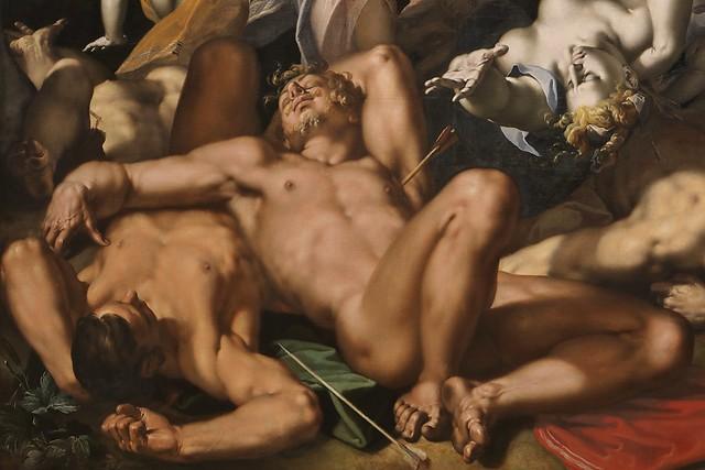 Apollo and Diana Punishing Niobe by Killing her Children (1591) # 2