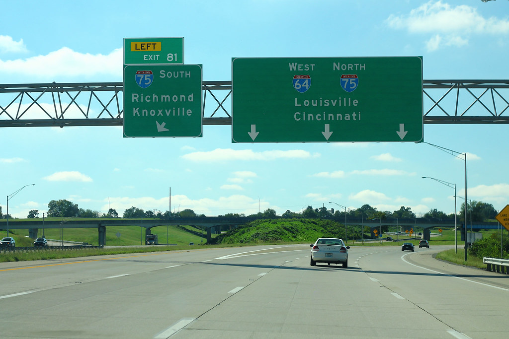 i 75 mile marker map kentucky I 64 West Exit 81 Interstate 75 Merge Formulanone Flickr i 75 mile marker map kentucky