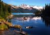 Pristine Garibaldi Lake by david schweitzer