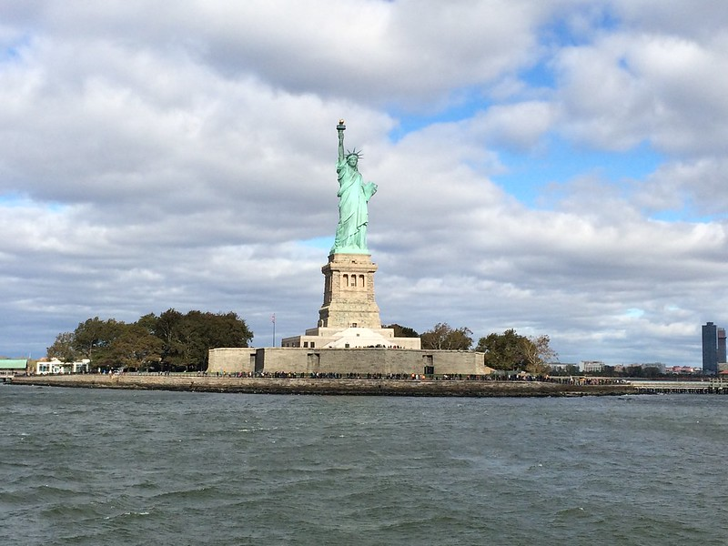 Statue of Liberty at Liberty Island