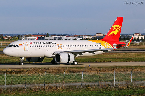 F-WWIS Airbus A320 Néo Capital Airlines | by @Eurospot