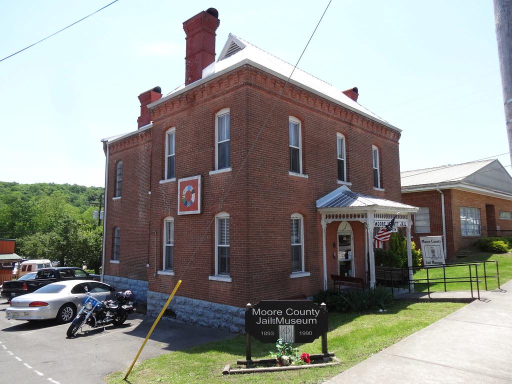 Historic Moore County Jail, Lynchburg, TN2 | **Moore County
