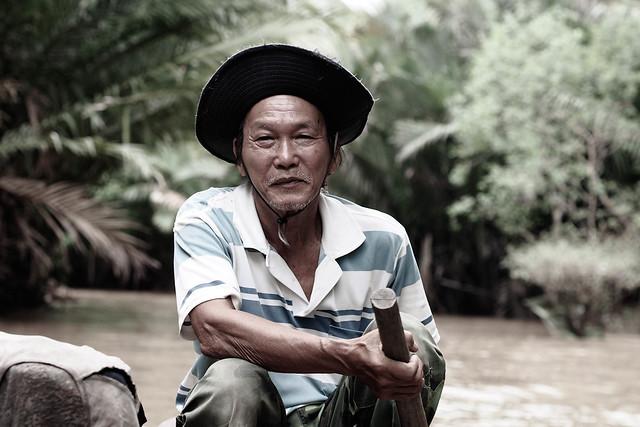 Mekong Boatman