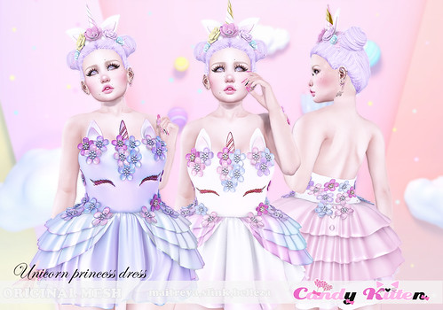 unicorn princess dress at SENSE