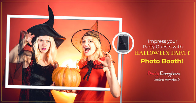 Impress your Party Guests with Halloween Party Photo Booth