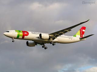 F-WWYO Airbus A330 Neo Air Portugal | by @Eurospot