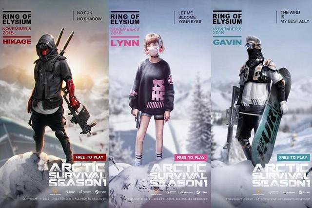 Season Pass Icon Characters