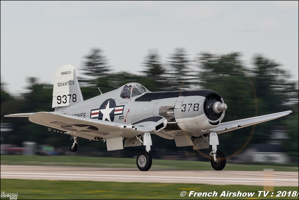 Chance Vought AU-1 Corsair Quantico EAA Oshkosh