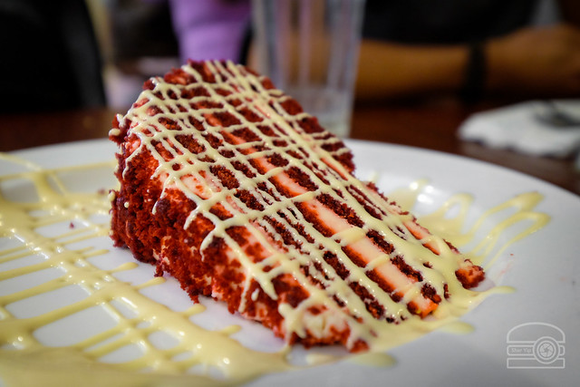 Red Velvet Cheese Cake - Willie Mae's Scotch House