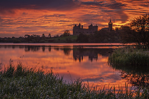 linlithgow linlithgowloch linlithgowpalace sunrise