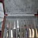 Selection of steak knives to use