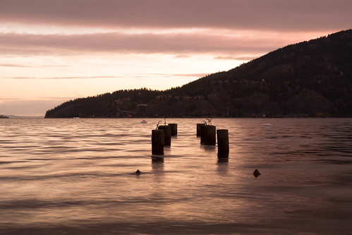 parkercove lake okanaganlake sunrise cloudy
