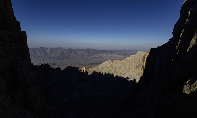 Window into Owens Valley