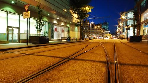 Corporation Street Tram Tracks