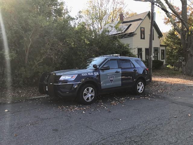 Massachusetts State Police Ford Interceptor Utility