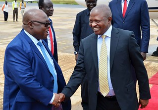 Deputy President David Mabuza, in his capacity as President Cyril Ramaphosa's Special Envoy to Juba