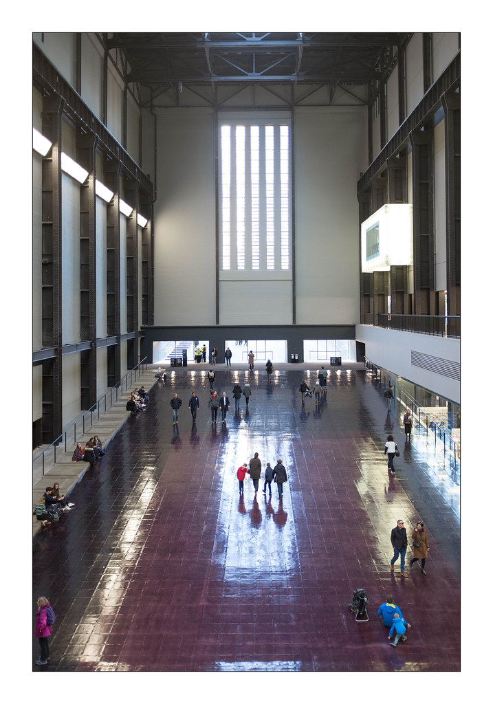 The Turbine Hall Tate Modern South London England Flickr