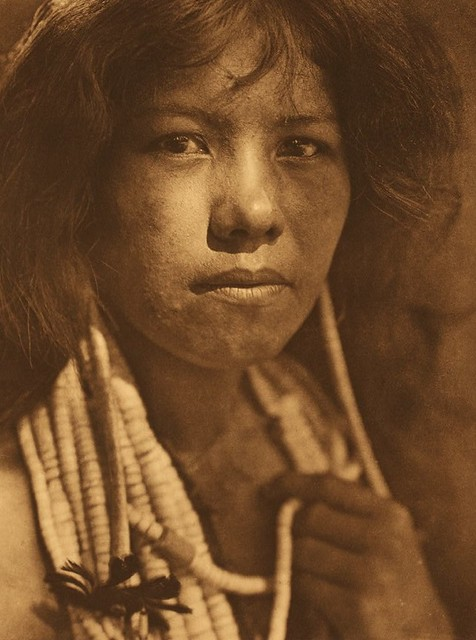 Pomo Indian Woman