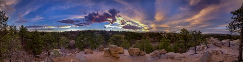 iphone nature hdr iphonexsmax colorado coloradosprings outdoors panorama sunset palmerpark landscape outside
