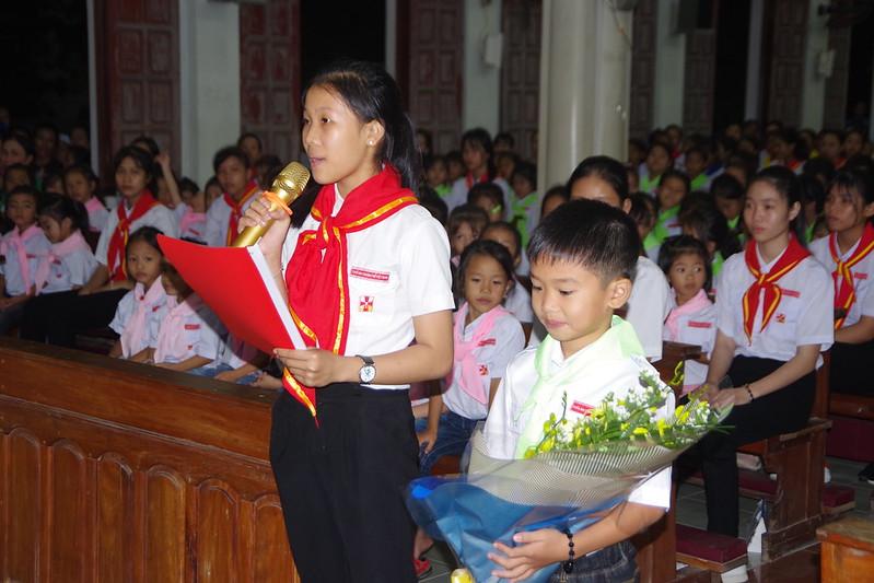 Lễ ra mắt TNTT xứ  đoàn Đa Minh Tân Phong, QB (20)
