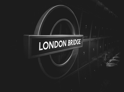 London Bridge Tube by Simon Hadleigh-Sparks | by Simon Hadleigh-Sparks