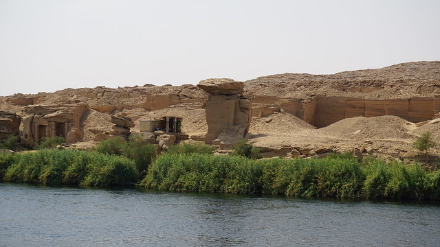 Jebel Silsila, Nile River, Egypt.