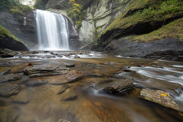 Looking Glass Falls, National Forests in North Carolina, Transylvania County, North Carolina 2