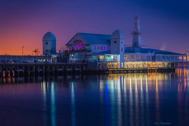 Cunningham Pier at Blue, Purple & Orange Hour