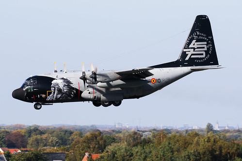 Belgian Air Force - Lockheed C-130H Hercules - CH-10   by Jesse Vervoort