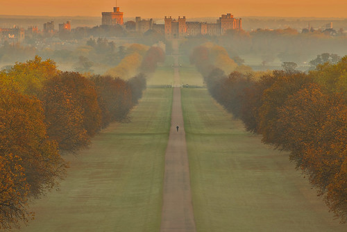 castle windsor berkshire uk sunrise autumn andreapucci
