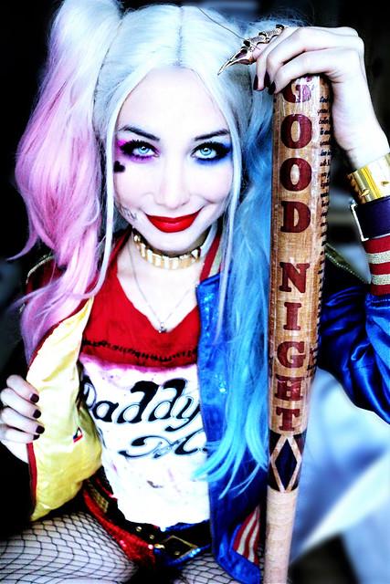Harley Quinn by Sarina Rose