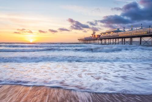england devon seascapes seascape eos80d canon pier waves sea beaches beach landscapephotography landscape sunrise seafront paignton