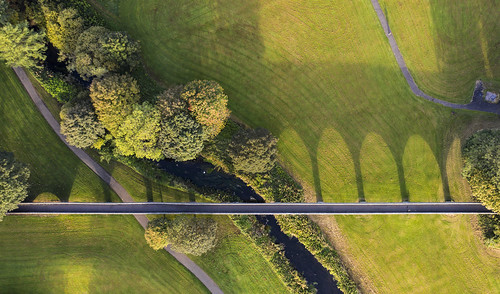 finalthen fintry linlathen park bridge viaduct dundee scotland shadows shadow sunrise sun rise love