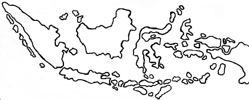 Gambar Peta Indonesia Warna Putih A Photo On Flickriver