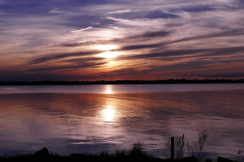 virginia virginiabeach mundenpointpark sun water sunset panasonic