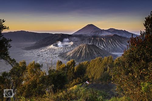 bromo semeru indonesia landscape