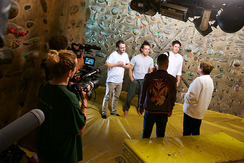 Backstage of X Factor daily at Fantasyclimbing Milano