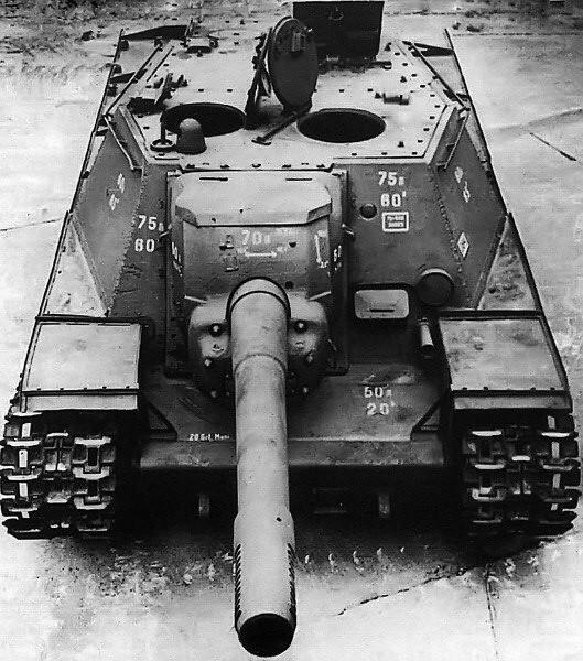 ソ連152mm自走砲 SU-152