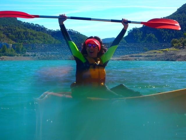 Ruta en Kayak Embalse de Arenoso 7 Octubre 2018