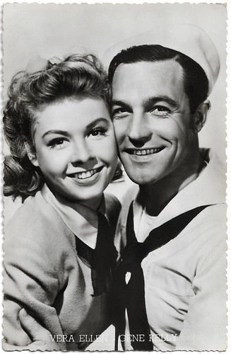 Vera Ellen and Gene Kelly in On the Town (1949)