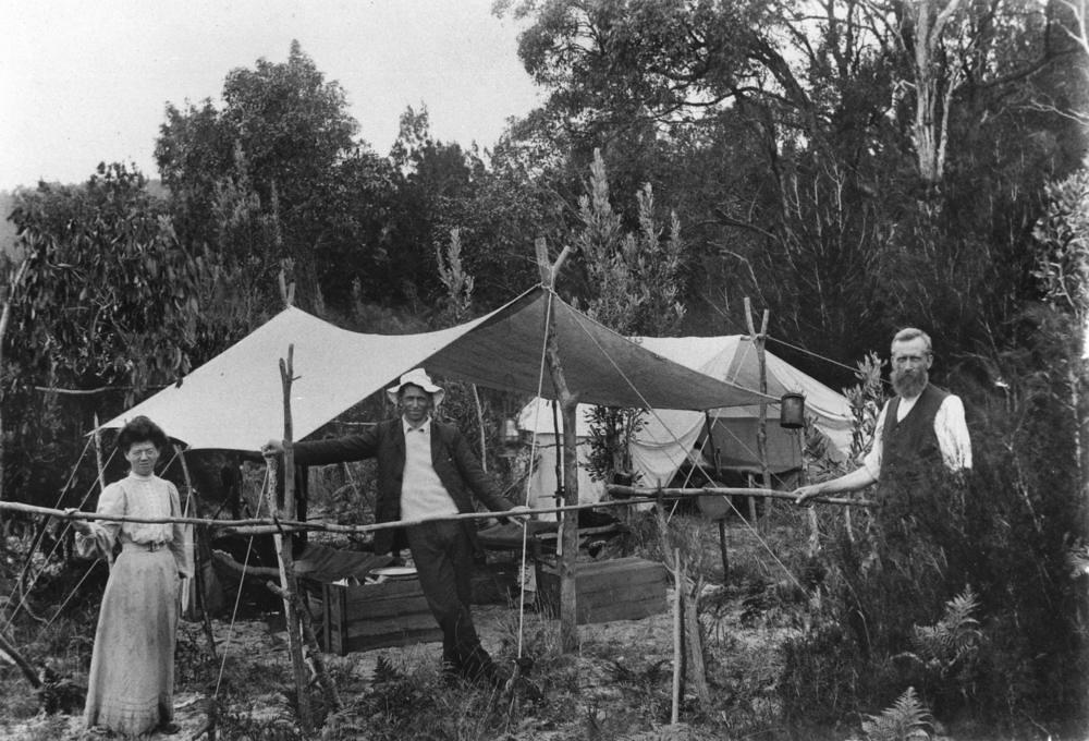 Christmas Camping Australia.Christmas Camp At Bulwer Moreton Island 1907 Creator Un