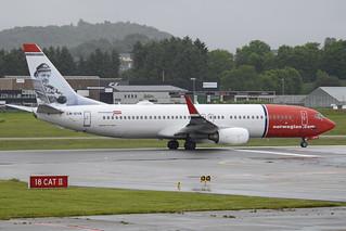 Boeing 737-8JP(w) 'LN-DYA' Norwegian Air Shuttle   by Hawkeye UK