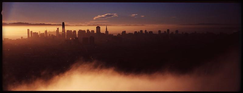 Hasselblad Xpan Cityscape - San Francisco