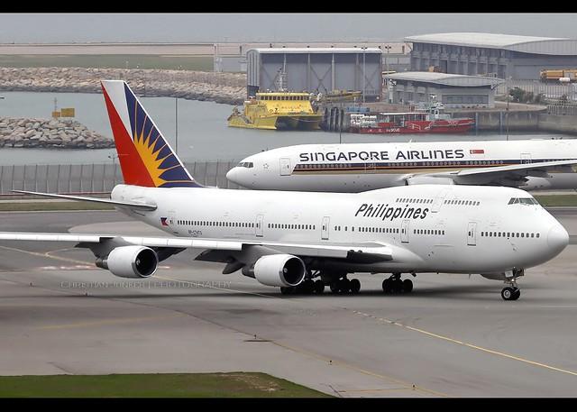 B747-4F6 | Philippine Airlines | RP-C7473 | HKG