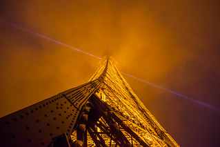 Eiffel Tower Looking Up | by Bradley N. Weber