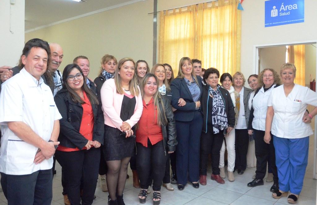 2018-10-02 SALUD: Inauguración de Vacunación y Enfermería en Villa Krause