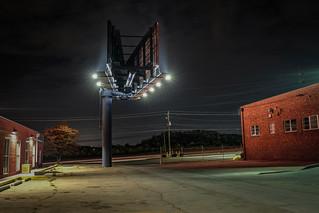 Industrial night in Decatur